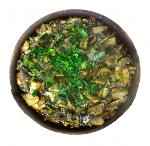 Mushroom Chashushuli , tomatoes, herbs