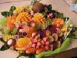 Фруктовое ассорти  -   сезонные фрукты ( на 4 персоны)