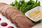 Cooked beef tongue