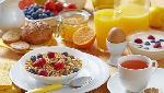 საუზმე სასტუმროს აკროშკით
