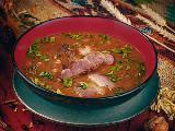 Хашлама мясной суп c зеленью и специями