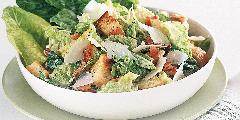 Caesar salad with mushroom